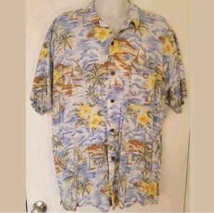 Steve and Barry's Classic Hawaiian Shirt Size 3XL